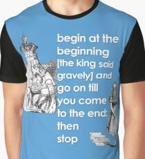 Begin at The Beginning Graphic T-Shirt