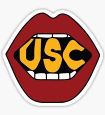 USC Lips Sticker