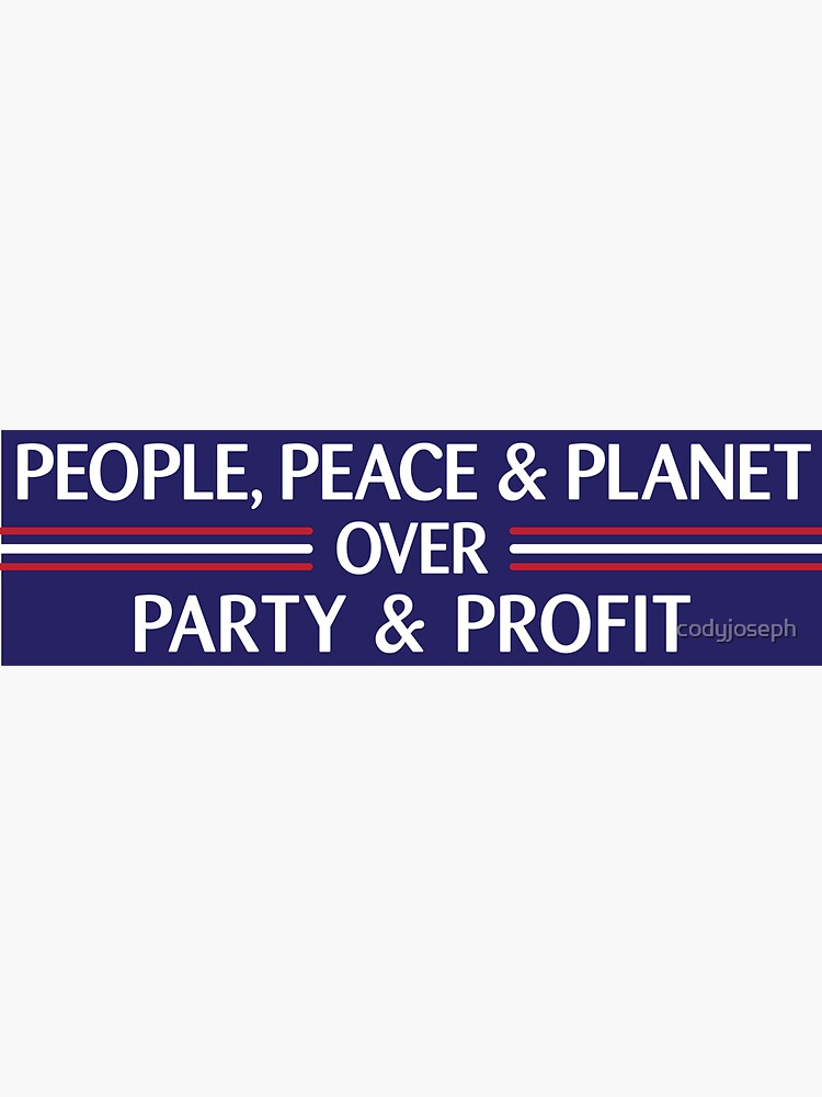 People, Peace & Planet (Blue) by codyjoseph