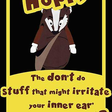 Hoppy Badger de andraskiss
