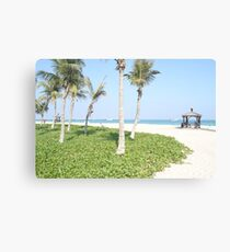 Beach vibes Canvas Print