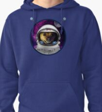 Rocky the Dog, Space Astronaut Pullover Hoodie