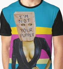 I'm Not Your Puppet Graphic T-Shirt