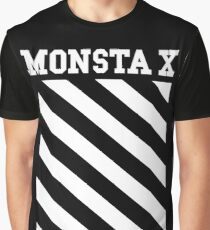 Monsta X Off-White Inspired Logo Graphic T-Shirt