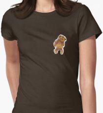 Bitty Bear Womens Fitted T-Shirt