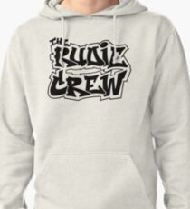 The Rudie Crew Logo on White Pullover Hoodie