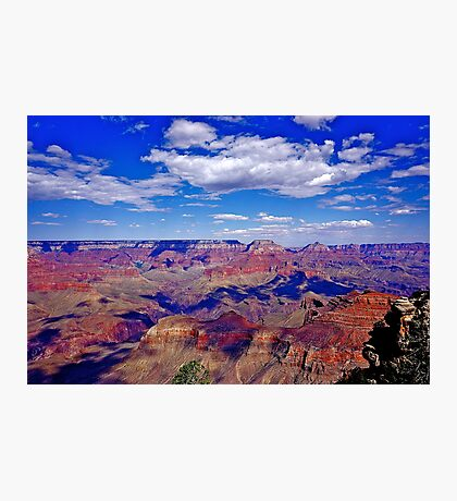Cloud Shadows In the Canyon Photographic Print
