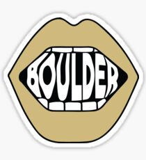Boulder Lips Sticker