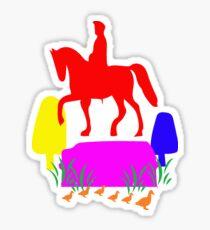 Boston Pride - Celebrate Gay Pride - History and Rainbows Sticker