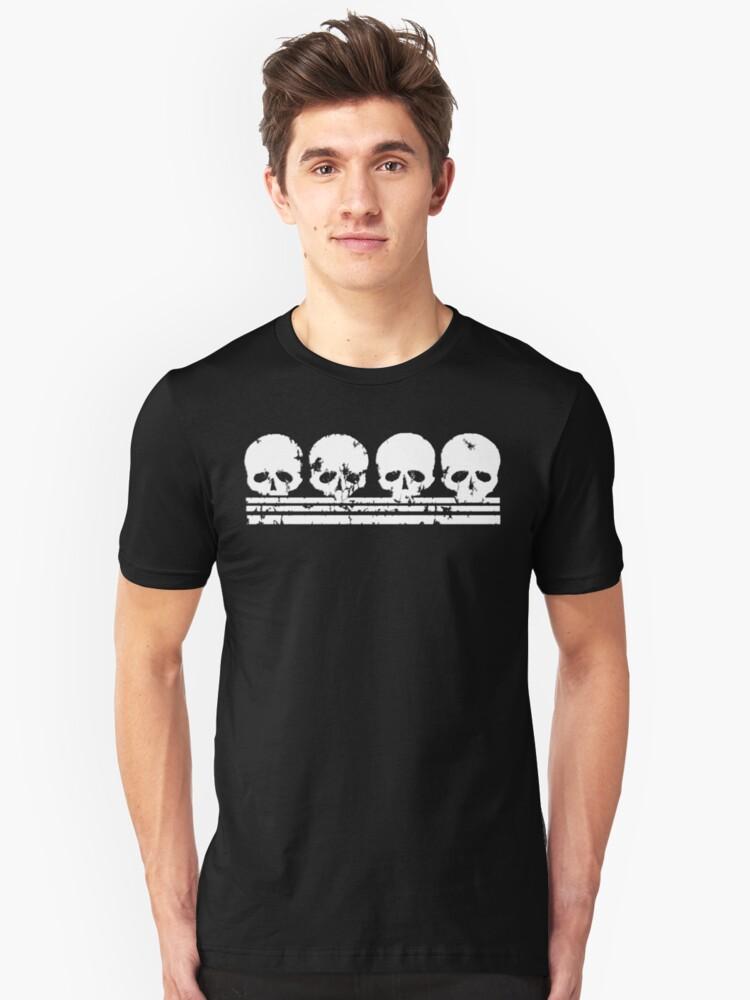 Skull Row t shirt by iEric
