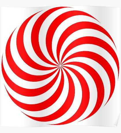 NDVH Circle Two - red Poster