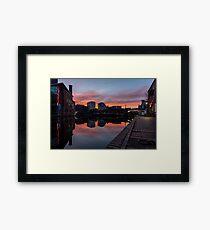 Gas Street Sunrise Framed Print