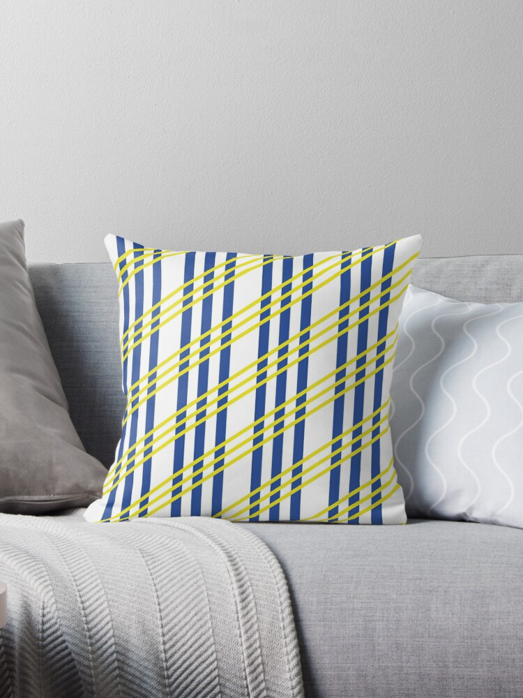Striped pillow by RPetrea