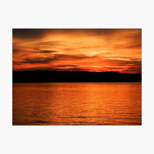 Bold sunset Photographic Print