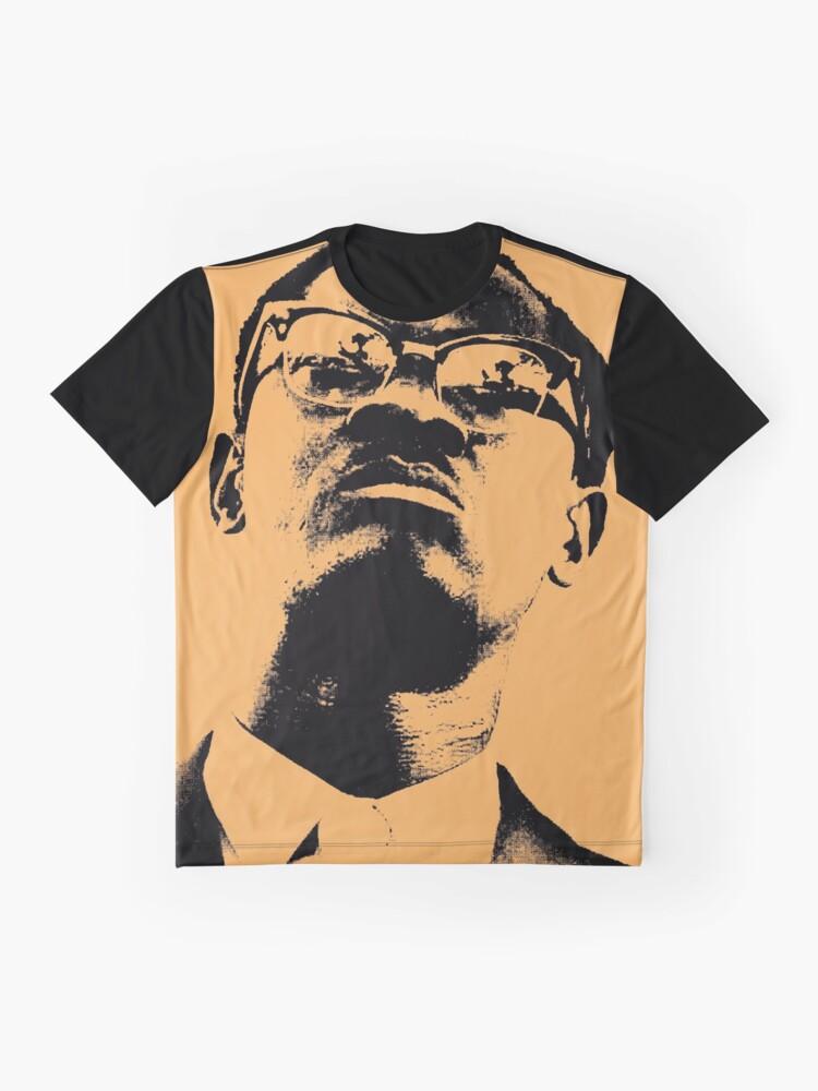Vista alternativa de Camiseta gráfica Patrice Lumumba