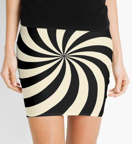 NDVH Circle Two - cream Mini Skirt