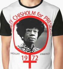 Shirley Chisholm For President Graphic T-Shirt