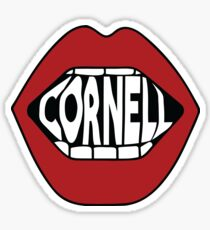 Cornell Lips Sticker