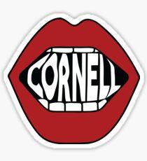 Cornell Lips Sticker