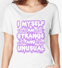 Strange and Unusual - Pastel Goth Women's Relaxed Fit T-Shirt