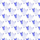 Blue FOX pattern by vasarenar