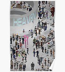 Mass Effect: Bar in Heaven (Maleshep) Poster