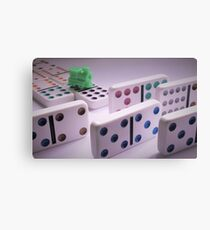 Trouble on the Mexican Train Canvas Print