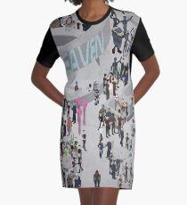 Mass Effect: Bar in Heaven (Femshep) Graphic T-Shirt Dress