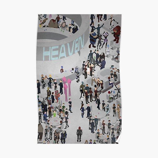 Mass Effect: Bar in Heaven (Femshep) Poster