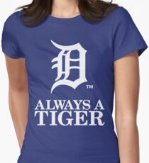 detroit tigers Womens Fitted T-Shirt