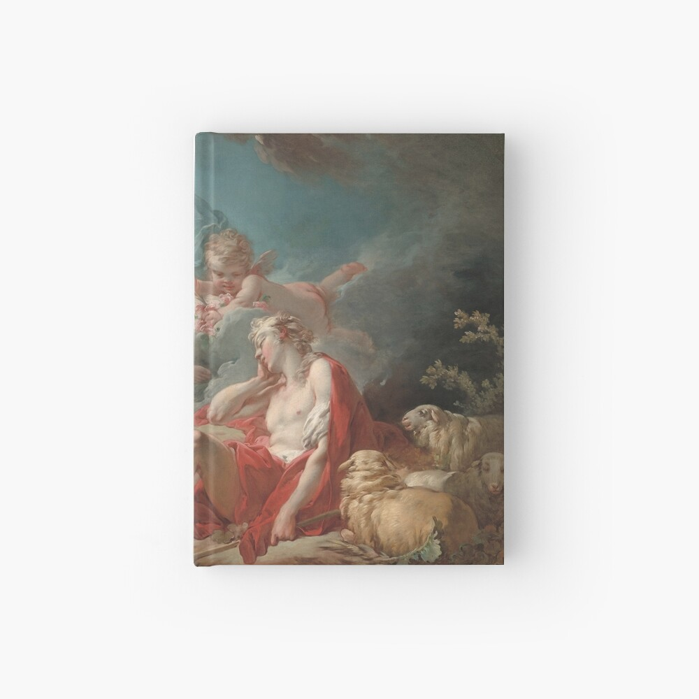 Diana and Endymion Oil Painting by Jean-Honoré Fragonard Hardcover Journal