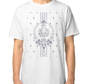 Rosenbouquet Grau Classic T-Shirt