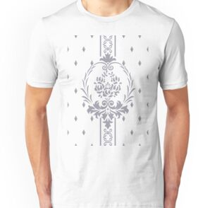 Rosenbouquet Grau t-shirt