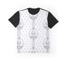 Rosenbouquet Grau Grafik T-Shirt