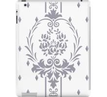 Rosenbouquet Grau iPad-Hülle & Skin