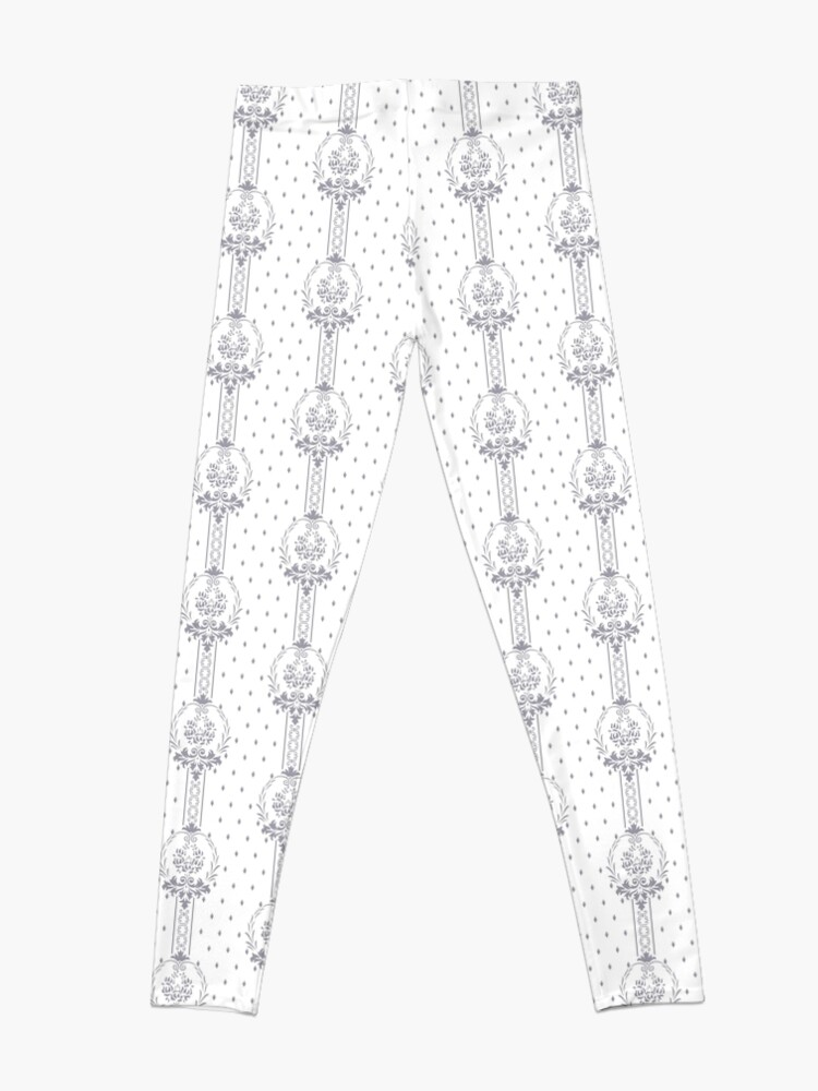 Alternative Ansicht von Rosenbouquet Grau... Leggings