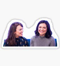 kara and jenny Sticker