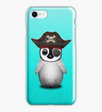 Cute Baby Penguin Pirate iPhone Case/Skin
