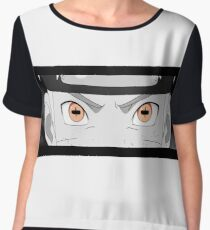 Naruto Sennin sage mode orange eyes from Shippuden Chiffon Top