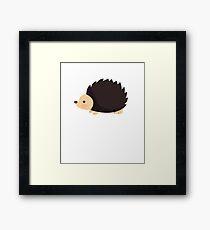 Cute Hedgehog for Kids Framed Print
