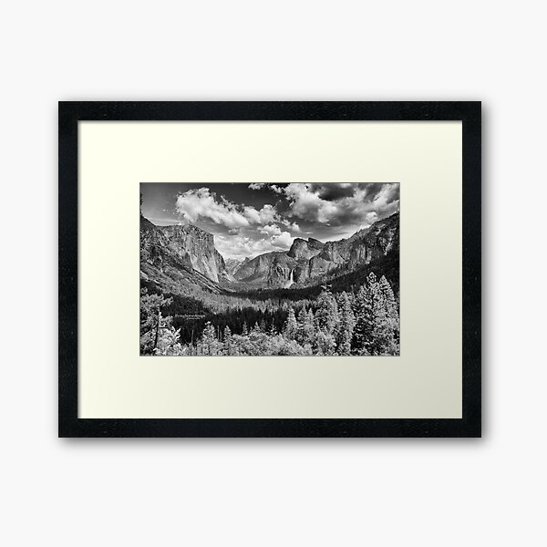 Yosemite Valley 2017 Framed Art Print