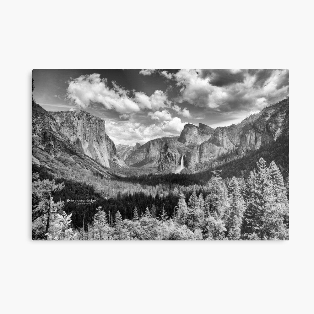 Yosemite Valley 2017 Metal Print