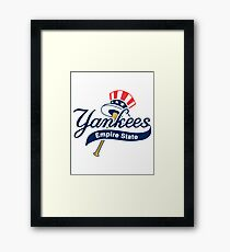 Yankees Empire State Framed Print
