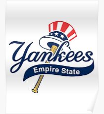 Yankees Empire State Poster