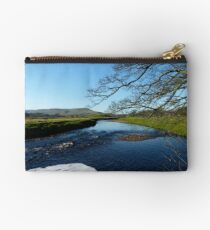 The River At Hawes Studio Pouch