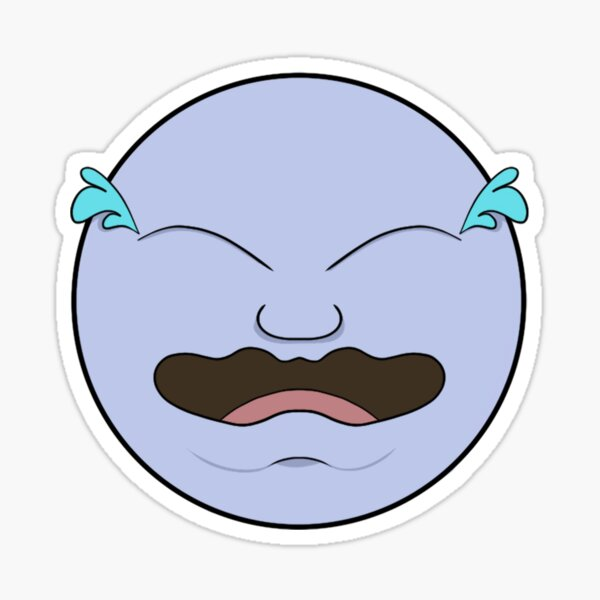 Crying Laughing Sticker