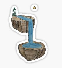 Majestic Island  Sticker