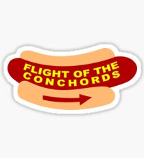 Flight of the Conchords Band Sign Sticker