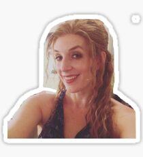 donna sheridan -murney style Sticker