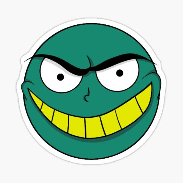 Evil Smile Sticker